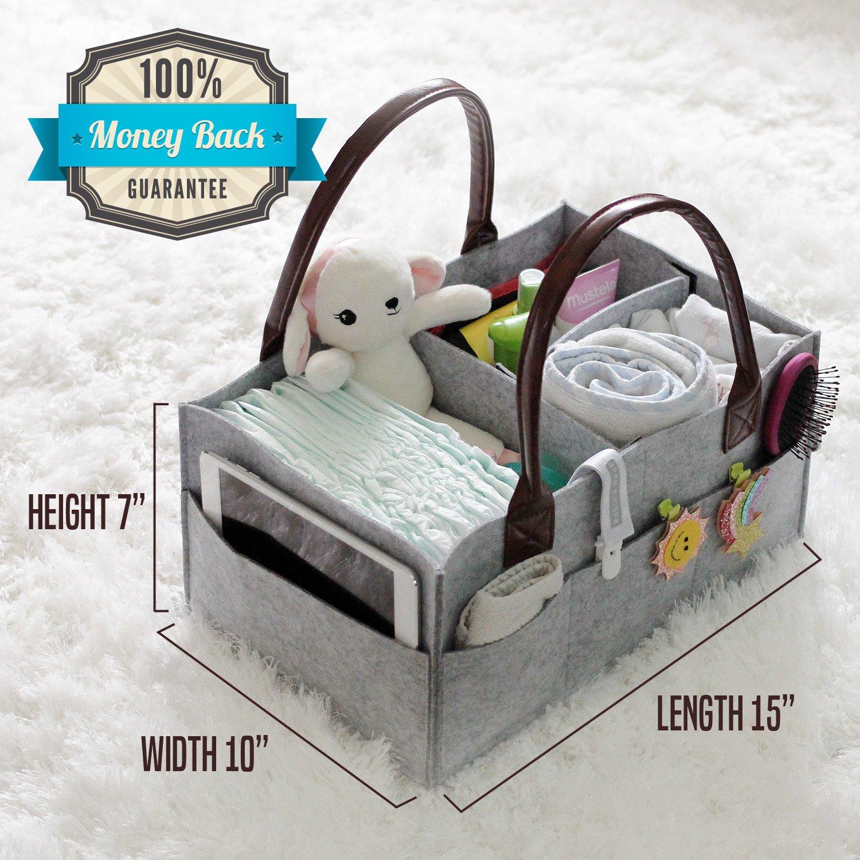 Amazon.com: Cesta para pañales de bebé y clip para chupete ...
