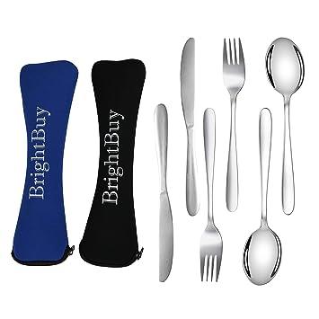 Amazon.com: Brightbuy Juego de 6 utensilios de acampada ...