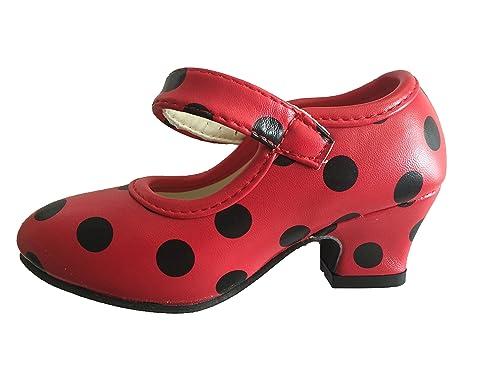 Zapatos de flamenco para niños, niños pequeños y bebés