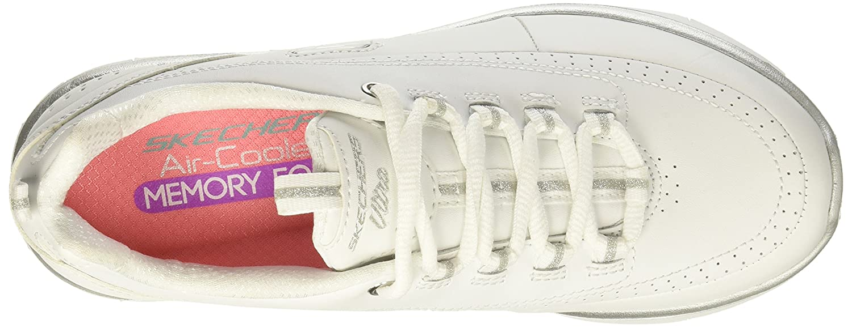 Skechers Women's Synergy 2.0 B(M) Fashion Sneaker B01N3MYNG5 5.5 B(M) 2.0 US|White/Silver e196ff