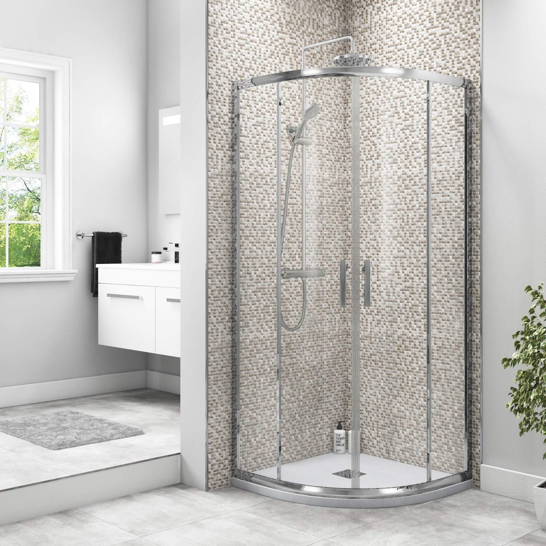 Taylor & Moore - Mampara de ducha deslizante (900 x 900 mm ...