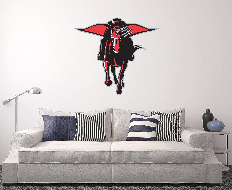 West Mountain Texas Tech Red Raiders Wall Decal Home Decor Art NCAA Team Sticker