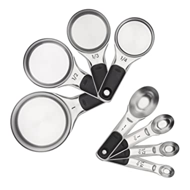 OXO 11180500 Good Grips Measuring Cups and Spoons Set, Stainless Steel, 2.9