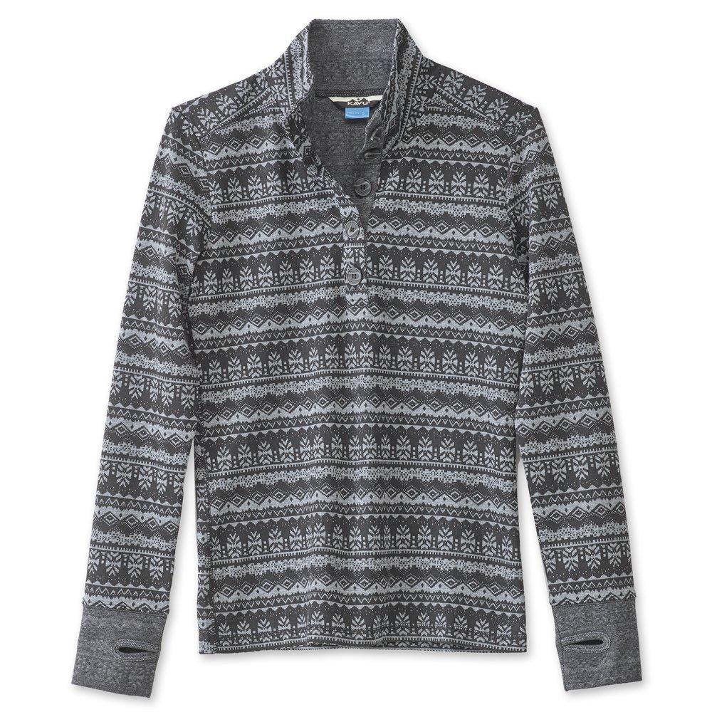 KAVU Women's Lopez Sweater, Stormy, Large by KAVU