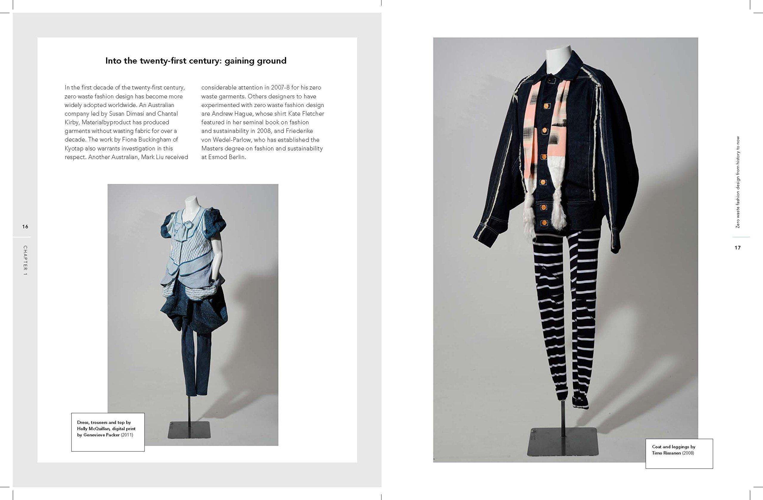 Zero Waste Fashion Design Required Reading Range Rissanen Timo Mcquillan Holly 9781472581983 Amazon Com Books