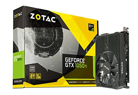 Zotac GeForce GTX 1050 Ti Mini GeForce GTX 1050 Ti 4GB GDDR5 - Tarjeta gráfica (GeForce GTX 1050 Ti, 4 GB, GDDR5, 128 bit, 7680 x 4320 Pixeles, PCI ...