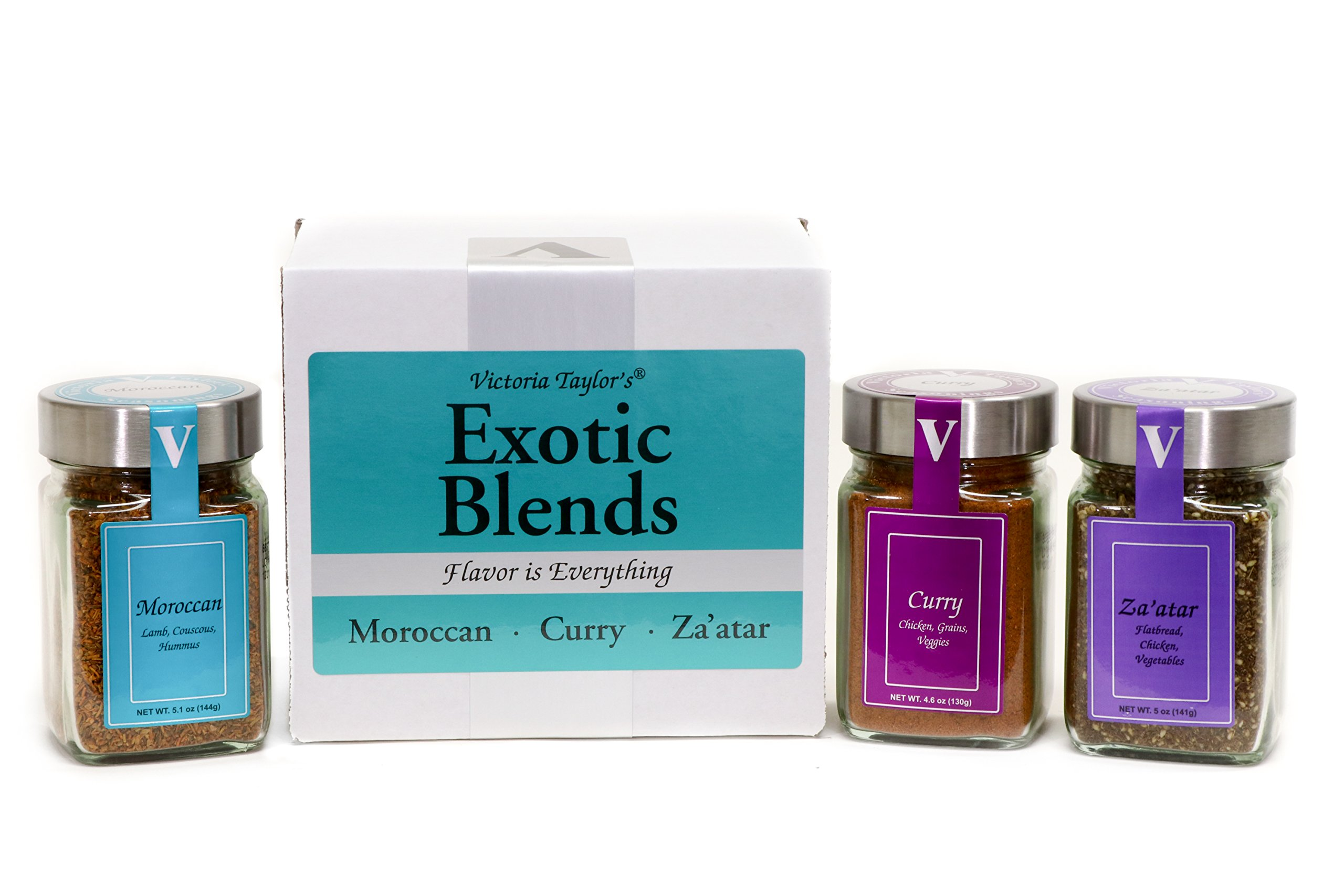 Exotic Blends - 3 spice blends from around the world. by Victoria Taylor's