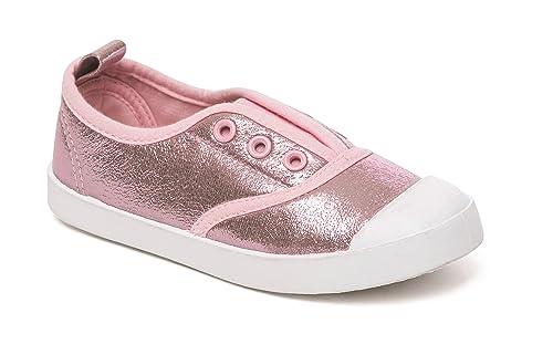 ffe3f6cf Foster Footwear - Zapatillas de Lona para niña Rosa Rosa 36.5: Amazon.es:  Zapatos y complementos