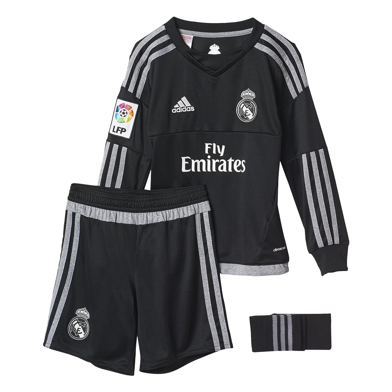 adidas 1ª Equipación Real Madrid CF SMU M - Conjunto de Portero