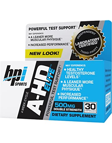 BPI Sports A-HD Elite Standard - 30 Cápsulas