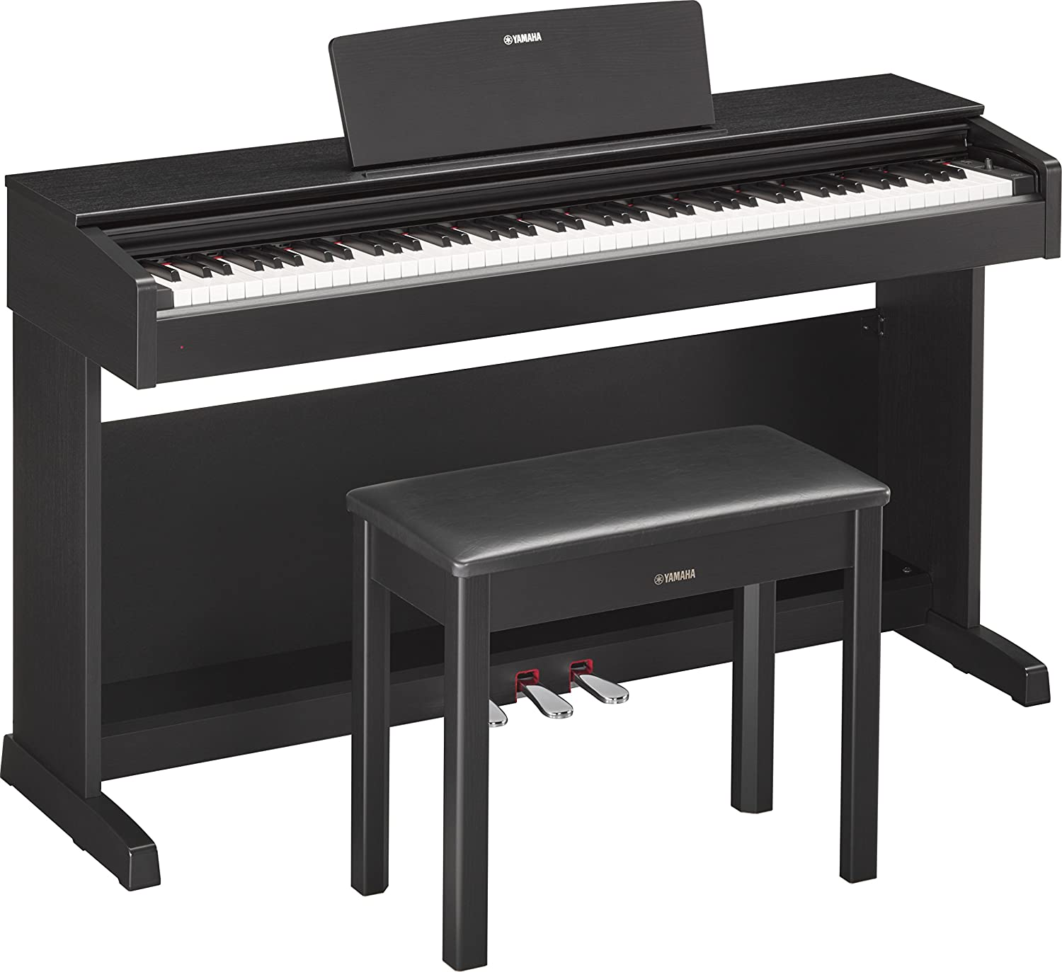 Yamaha YDP184R Arius Series Console Digital Piano with Bench, Dark Rosewood