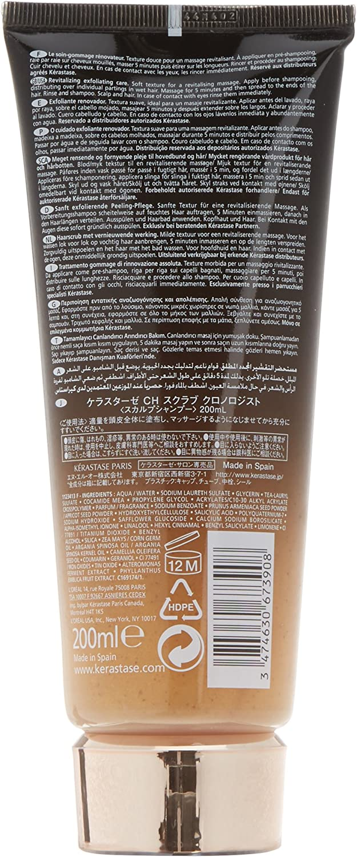 Kerastase Chronologiste Revitalizing Exfoliating Care Scalp and Hair Pre-Shampoo, 6.8 Ounce