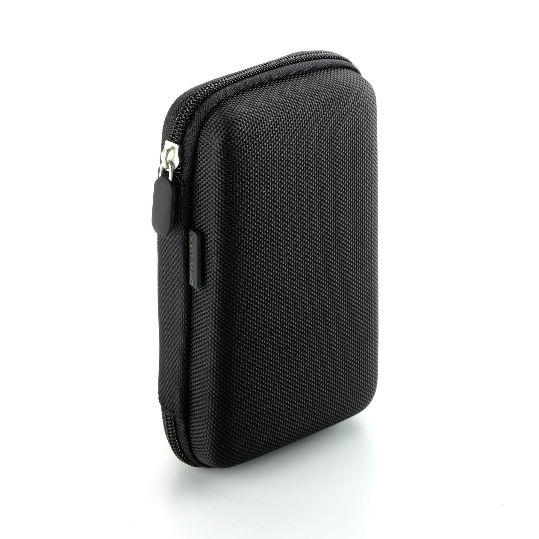 Drive Logic™ Portable EVA Hard Carrying Travel Case Pouch for 5-Inch GPS (Black)