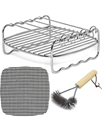 Air Fryer SQUARE Rack Accessories and Mats