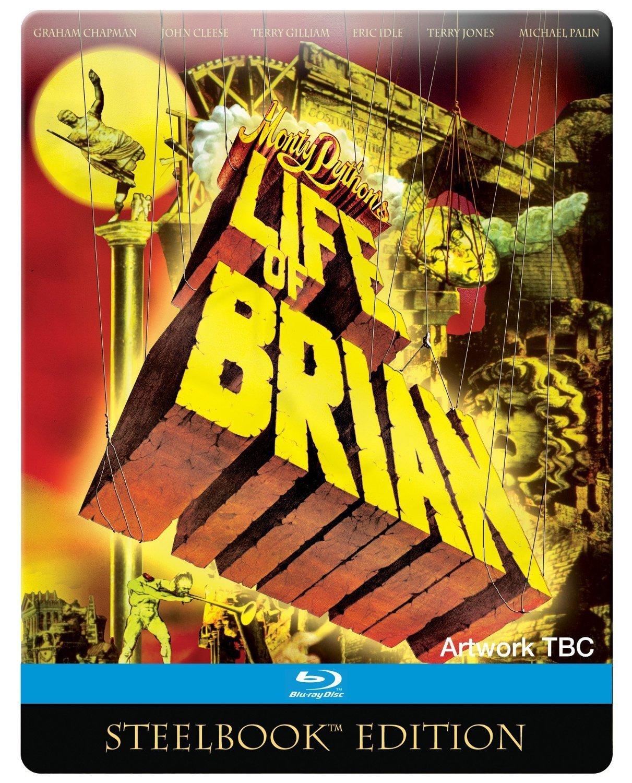 Amazon Com Monty Python S Life Of Brian Steelbook Blu Ray John Cleese Terry Gilliam Graham Chapman Terry Gilliam Terry Jones Movies Tv
