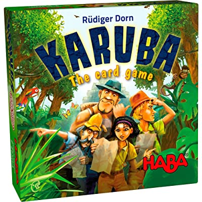 HABA Karuba the Card Game - An Exciting Adventure for 2-6 Treasure Hunters Ages 8+ (Made in Germany): Toys & Games