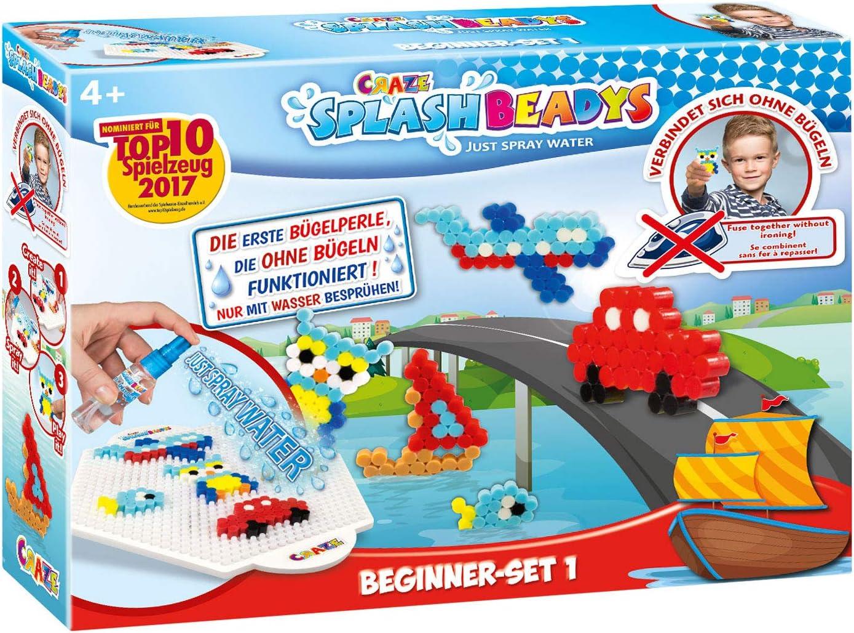 CRAZE fusibles FUSE BEADS SPLASH BEADYS Juego de manualidades para niños pequeños con cuentas de agua 15278, multicolor , color/modelo surtido: Amazon.es: Juguetes y juegos