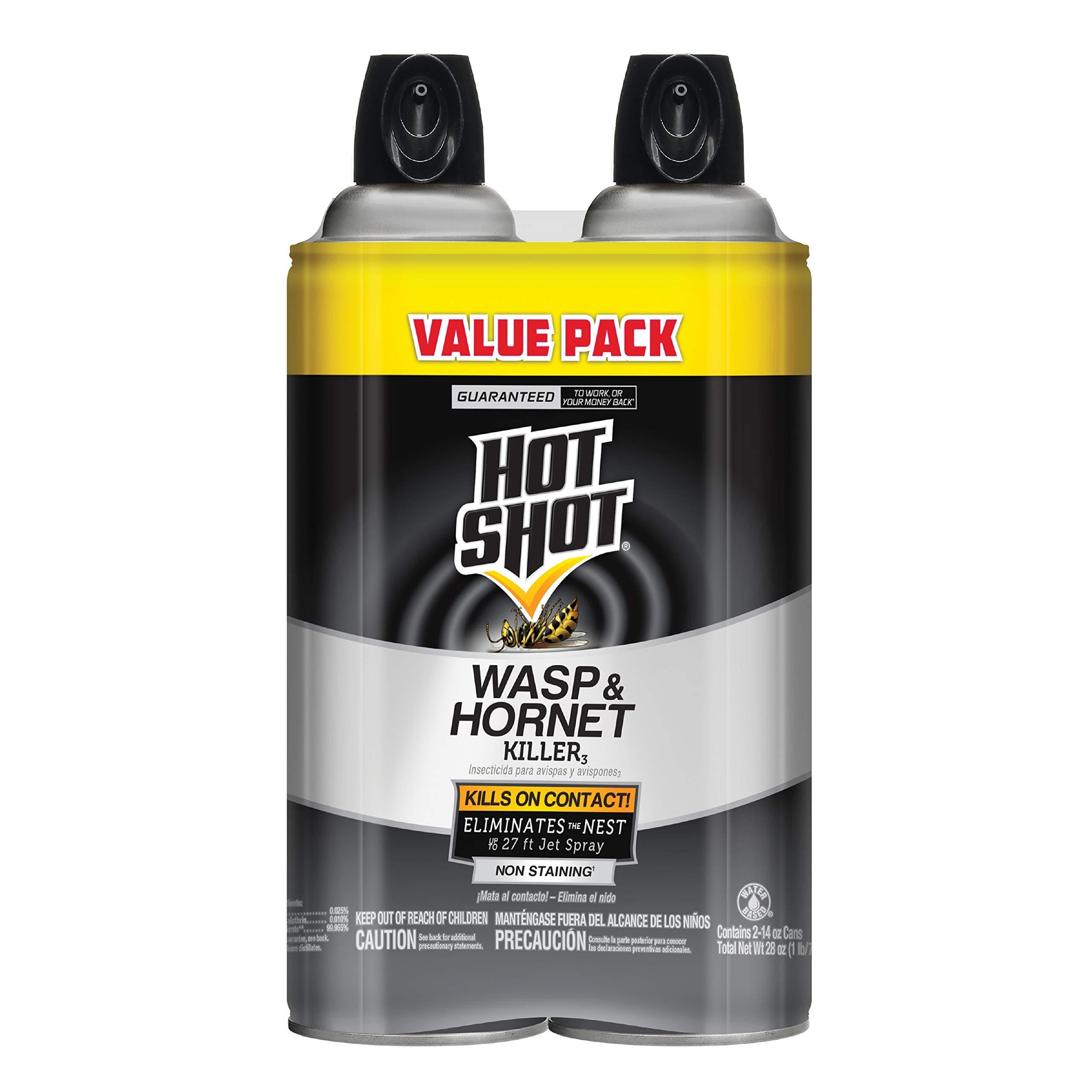 Hot Shot 13412 HG-13412 pest Control, 14 oz, Black (pack of 2) by Hot Shot