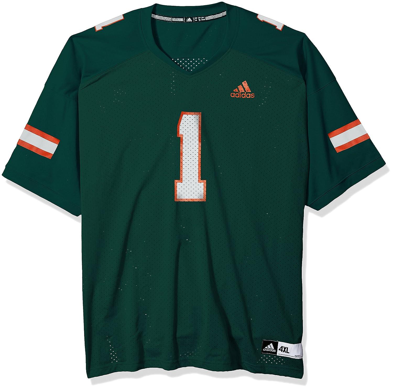Adidas NCAA Fußball Replica Jersey, Herren, NCAA Replica Football Jersey, dunkelgrün