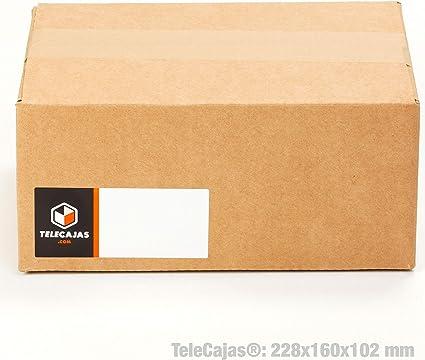 TeleCajas® | (30x) Caja Cartón Pequeña Envios | 228x160x102 mm ...