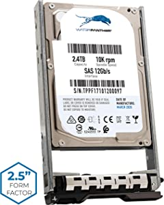 """2.4TB 10K SAS 12Gb/s 2.5"""" HDD for Dell PowerEdge Servers   Enterprise Hard Drive in G13 Tray   Compatible with R630 R930 400-AUQX W9MNK 0W9MNK 400-AVBX 09F0N8 9F0N8"""