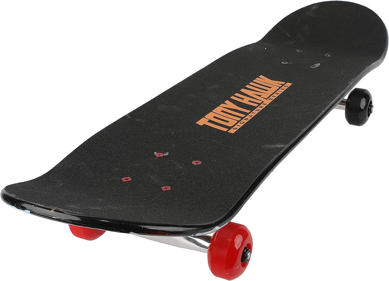 Carving Hawk Engine Tony Hawk Signature Series 3 Tricks and Downhill ABO31S3TH-HEN-STK-1 Metallic Graphics /& 9-ply Maple Desk Skate Board for Cruising 31 inch Tony Hawk Skateboard