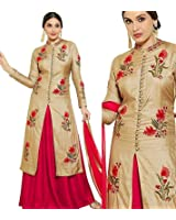 Indo Western Salwar Suit for Women Indo western for Girls Dress Material for wedding lahenga choli for women