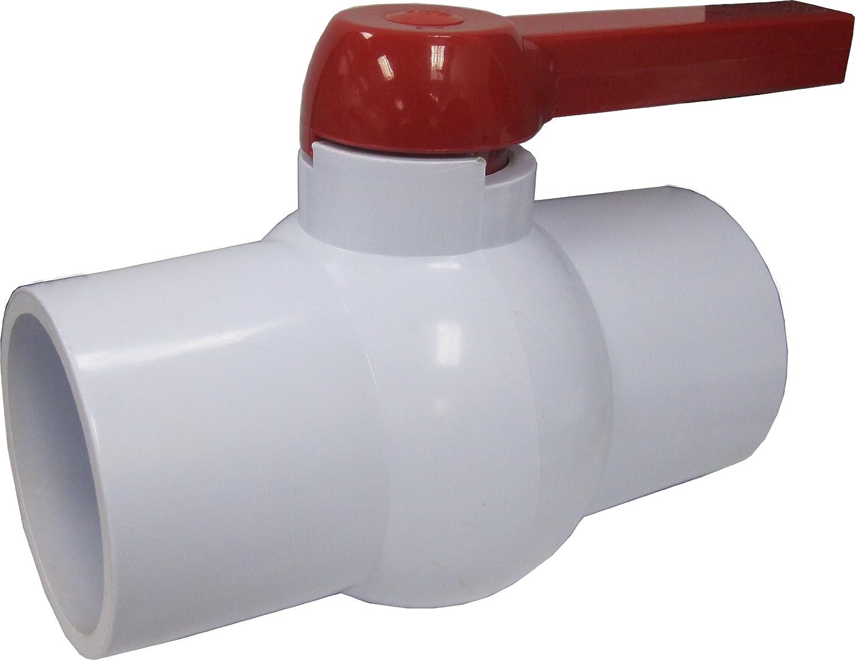 LDR 024 BV-4 4-Inch PVC Slip Ball Valve - Faucet Valves - Amazon.com