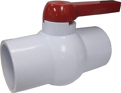 LDR 024 BV-3 3-Inch PVC Ball Valve - Faucet Valves - Amazon.com