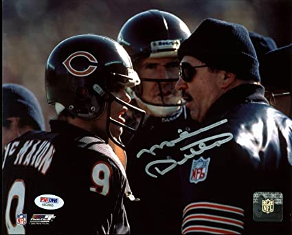 585ceac2514 Bears Mike Ditka Signed 8X10 Photo w Jim McMahon - PSA DNA Certified ...