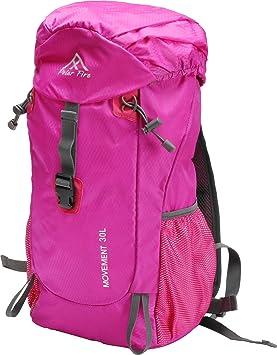 Polar Fire 30L Trekking Mochila de senderismo mochila impermeable, ligero, viajar al aire libre mochila, Camping senderismo montañismo ciclismo Mochila ...