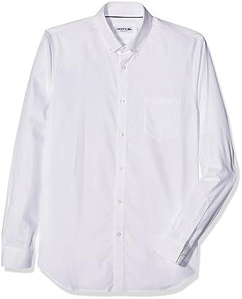 98adc177295 Lacoste Chemise habillée Homme  Amazon.fr  Vêtements et accessoires