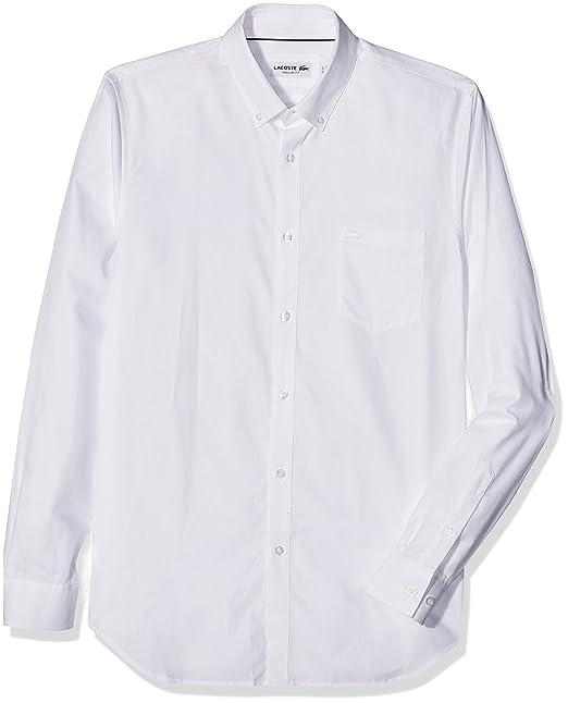 f985cd2100c Lacoste Camisa para Hombre  Amazon.es  Ropa y accesorios