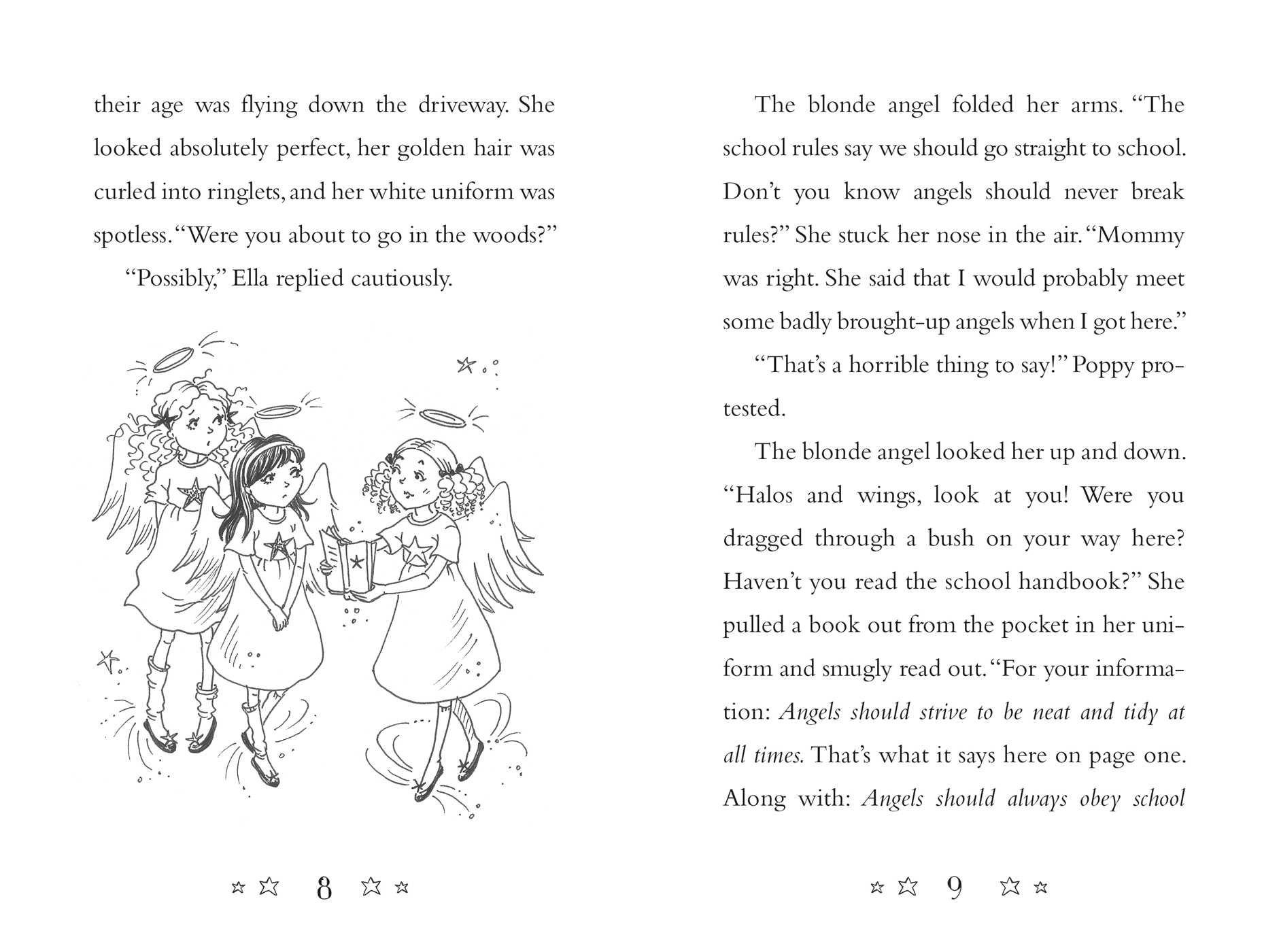 Amazon: New Friends (angel Wings) (9781481457972): Michelle Misra,  Samantha Chaffey: Books