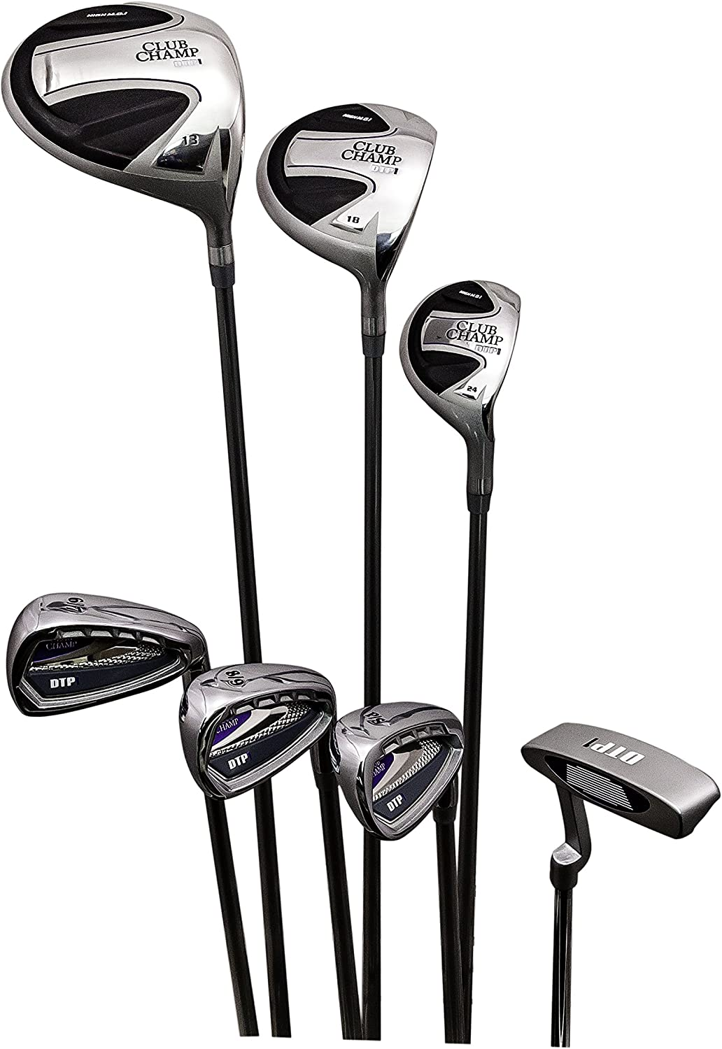 Club Champ Ladies Complete DTP (Designed to Play) Golf Club Set Right Hand