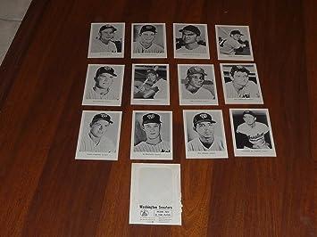 1966 WASHINGTON SENATORS PICTURE PACK SET OF 12 GIL HODGES NEAR MINT