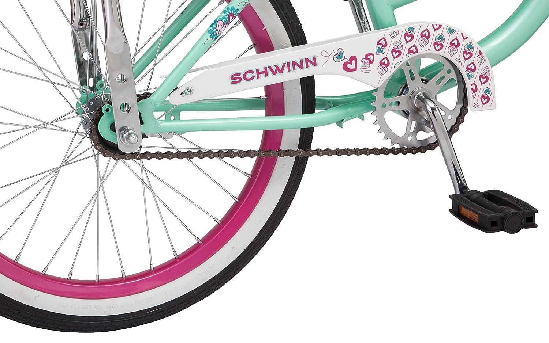 ff0563f525e Amazon.com : Schwinn S2367B Mist Girls Polo Bike, 20