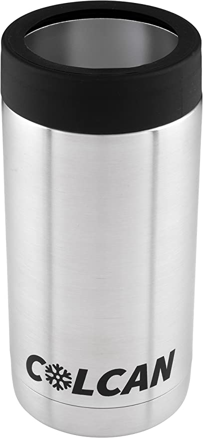 Colcan Stainless Steel Insulated Can Cooler 16oz Tallboy Pounder Cans Amazon Ca Home Kitchen