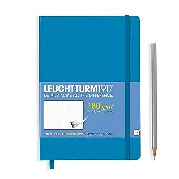 Leuchtturm1917 Sketchbook Medium Hardcover 180 g//sqm A5 96 Pages
