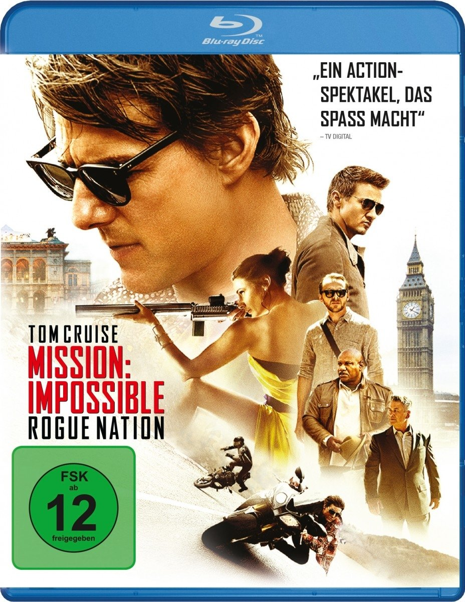 [amazon.de] Mission Impossible: Rogue Nation [Blu-ray] um 5,55€