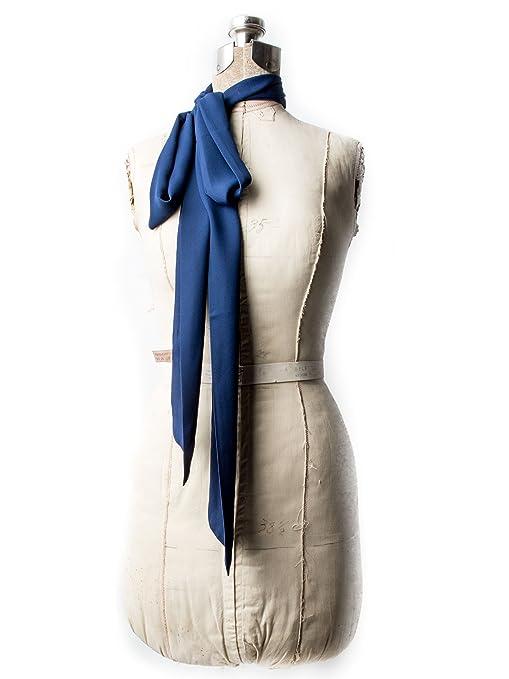 1920s Style Wraps Odette Chiffon Skinny Scarf Headband or Belt $16.95 AT vintagedancer.com