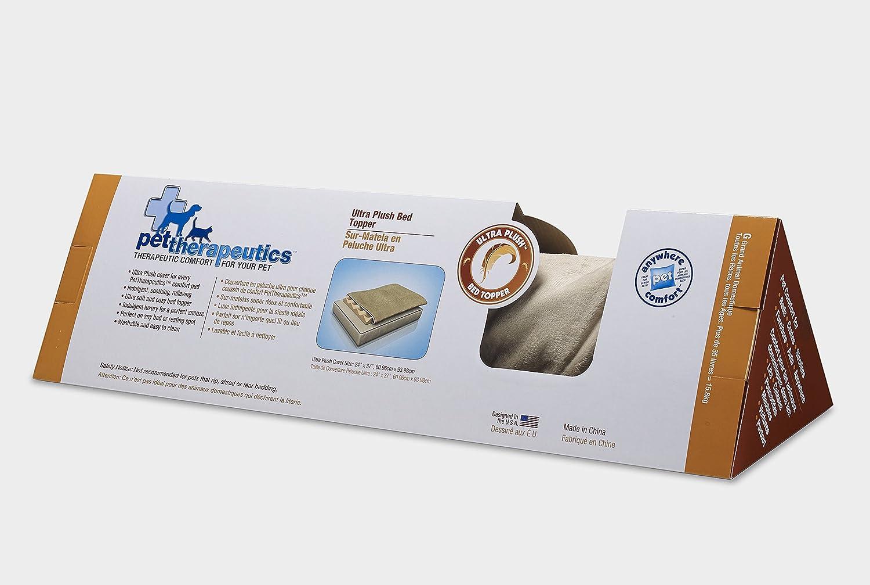 Amazon.com: Mascota therapeutics Ultra cama de felpa, S ...