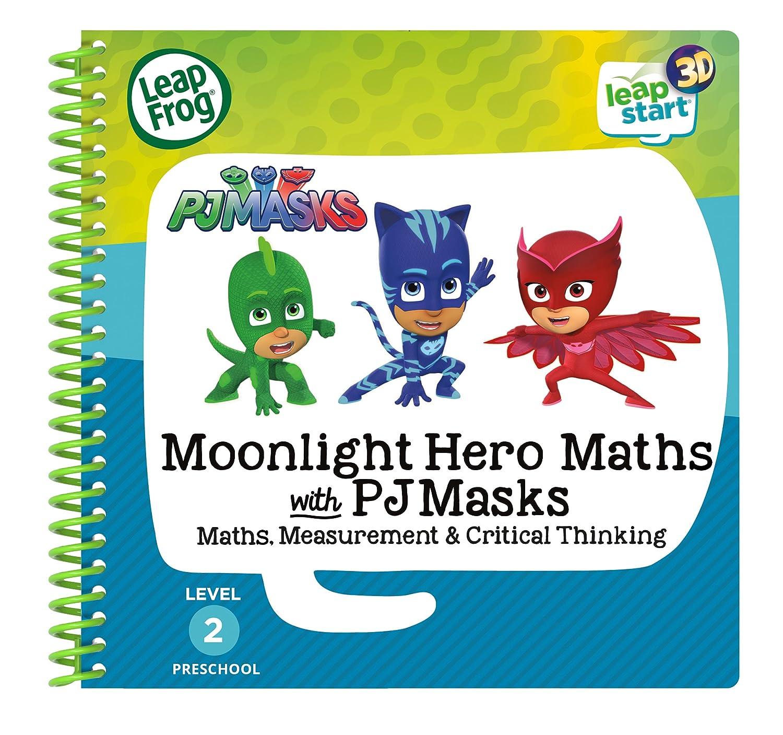 Leapstart Preschool: Moonlight Hero Maths with PJ Masks Activity Book (3D  Enhanced)