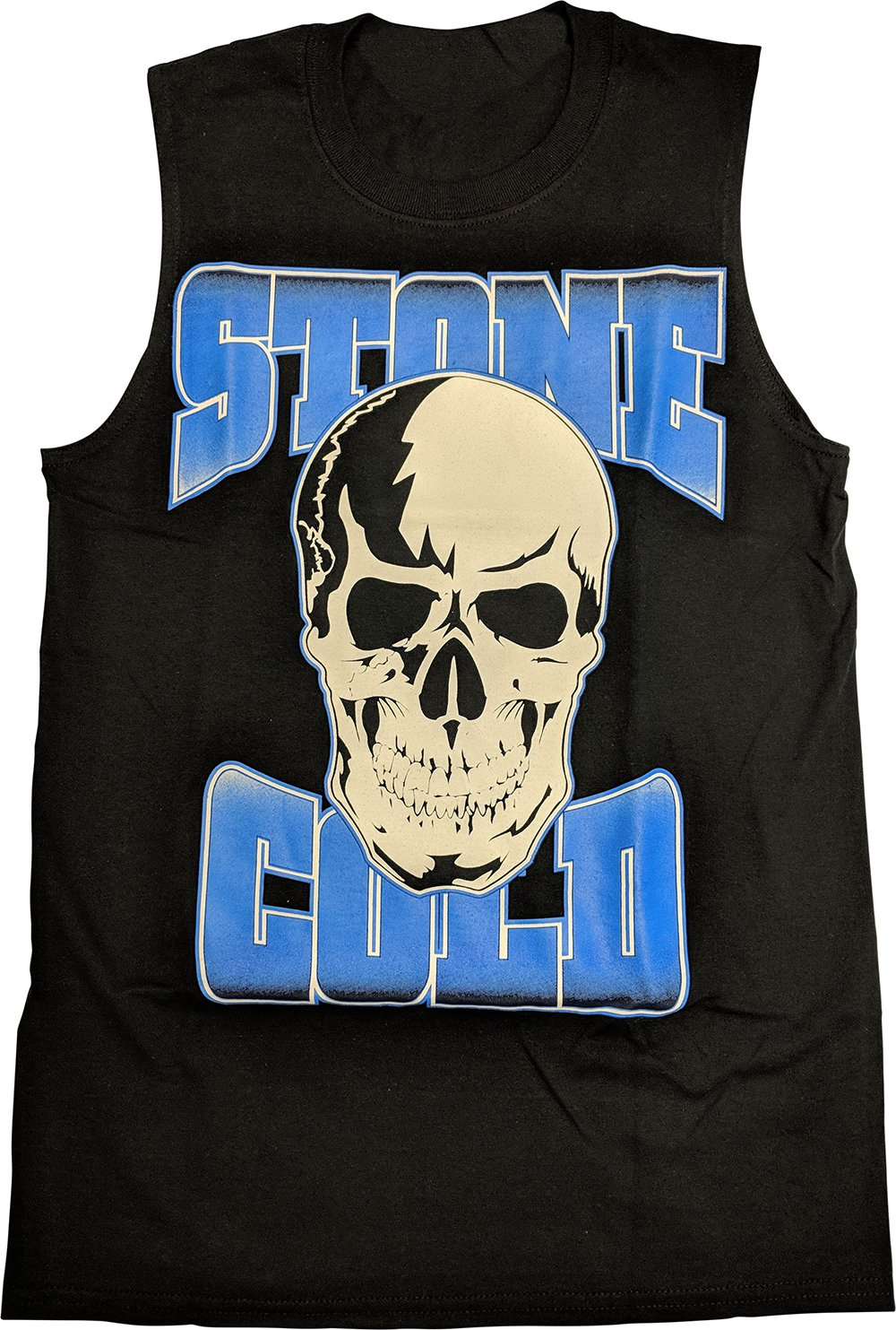 Hybrid Tees Stone Cold Steve Austin Stomping Mudholes Sleeveless Muscle T-Shirt