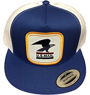 5af801e2fa8 Amazon.com  USPS Hat Cap Mail Postal Service Cap Postman  Clothing