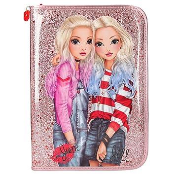 Depesche 10316 TopModel Friends - Estuche Grande, Color Rosa ...