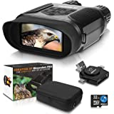 CREATIVE XP Digital Night Vision Binoculars for Complete Darkness - Infrared Night Vision Goggles for Adults - Hunting, Spy,