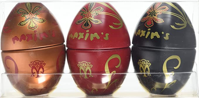 Maxims de paris mini egg gift pack tin 150 g amazon grocery maxims de paris mini egg gift pack tin 150 g negle Images