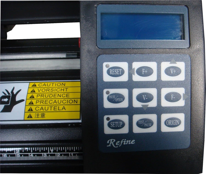 Profesional Plóter V Refine EH 721 LCD USB, artcut 2009 de nuevo ...