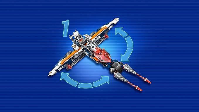 nexo Knights Juego - 70348 lances doble lanzen de Cruiser + 70349 ...